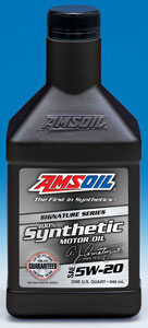 Amsoil 5w 20 synthetic motor oil for Amsoil 100 synthetic motor oil