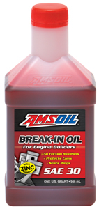 AMSOILO Break-In Oil
