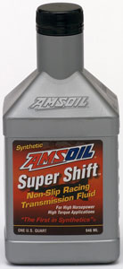 AMSOIL Super Shift racing ATF