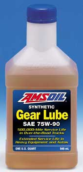 amsoil long life 75w 90 gear lube. Black Bedroom Furniture Sets. Home Design Ideas