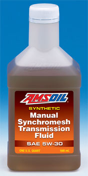 AMSOIL syncromesh manual transmission fluid