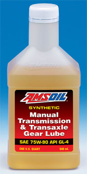 AMSOIL manual transmission and transaxle gear lube